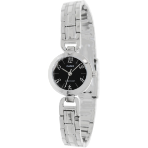Casio Women's Core LTP1373D-1A Silver Stainless-Steel Quartz Watch