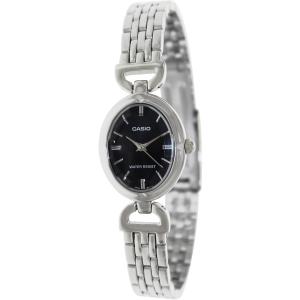 Casio Women's Core LTP1374D-1A Silver Stainless-Steel Quartz Watch