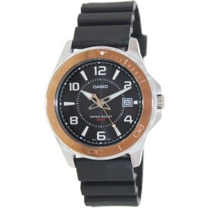 Casio Men's MTD1074-1AV Black Plastic Quartz Watch