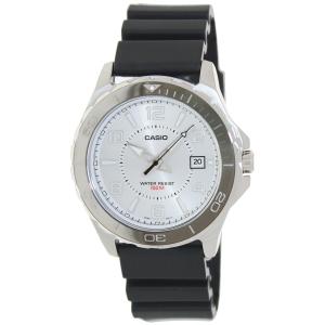 Casio Men's MTD1074-7AV Black Plastic Quartz Watch