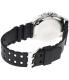 Casio Men's MTD1074-7AV Black Plastic Quartz Watch - Back Image Swatch