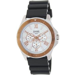 Casio Men's MTD1075-7AV Black Plastic Quartz Watch