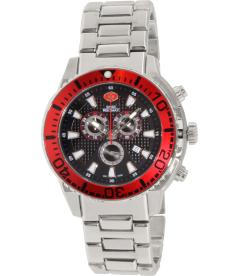 Swiss Precimax Men's Pulse Pro SP13098 Black Stainless-Steel Swiss Chronograph Watch