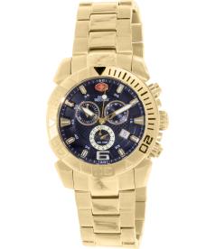 Swiss Precimax Men's Recon Pro SP13123 Black Stainless-Steel Swiss Chronograph Watch