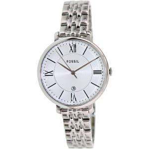 Fossil Women's Jacqueline ES3433 Silver Stainless-Steel Quartz Watch