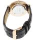 Daniel Wellington Men's York 0111DW Brown Leather Quartz Watch - Back Image Swatch