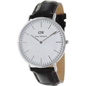 Daniel Wellington Men's York 0211DW Dark Brown Leather Quartz Watch