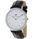 Daniel Wellington Men's York 0211DW Dark Brown Leather Quartz Watch - Main Image Swatch