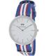 Daniel Wellington Men's Belfast 0213DW Blue Nylon Quartz Watch - Main Image Swatch