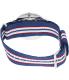 Daniel Wellington Men's Belfast 0213DW Blue Nylon Quartz Watch - Back Image Swatch