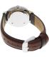 Daniel Wellington Women's St. Andrews 0607DW Brown Leather Quartz Watch - Back Image Swatch