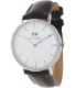 Daniel Wellington Women's Bristol 0611DW Brown Leather Quartz Watch - Main Image Swatch