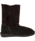 Bearpaw Women's Abigail Ankle-High Suede Boot - Side Image Swatch