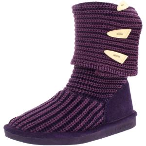 Bearpaw Women's Knit Tall Mid-Calf Wool Boot