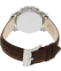 Fossil Men's Grant FS4839 Brown Leather Quartz Watch - Back Image Swatch