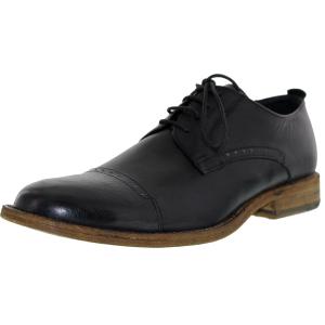J.D. Fisk Men's Kol Low Top Leather Oxford Shoe