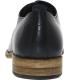 J.D. Fisk Men's Kol Low Top Leather Oxford Shoe - Back Image Swatch