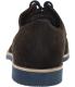 J.D. Fisk Men's Virago Low Top Suede Oxford Shoe - Back Image Swatch