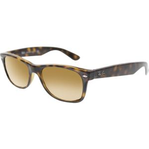 Ray-Ban Women's New Wayfarer RB2132-710-52 Tortoiseshell Wayfarer Sunglasses