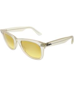 Ray-Ban Men's Original Wayfarer RB2140-6059/X4-50 Clear Wayfarer Sunglasses