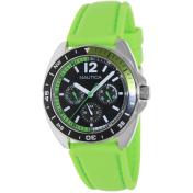 Nautica Men's Sport Ring A09912G Black Silicone Quartz Watch