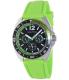 Nautica Men's Sport Ring A09912G Green Silicone Quartz Watch - Main Image Swatch