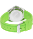 Nautica Men's Sport Ring A09912G Green Silicone Quartz Watch - Back Image Swatch