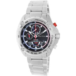 Nautica Men's Nst A34521G Silver Stainless-Steel Quartz Watch