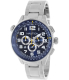 Nautica Men's Ocn 46 A34524G Silver Stainless-Steel Quartz Watch - Main Image Swatch