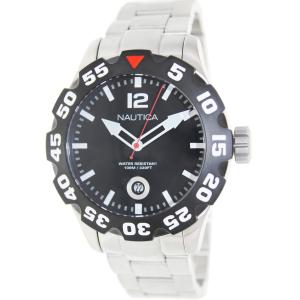 Nautica Men's Bfd 100 N18622G Silver Stainless-Steel Quartz Watch