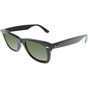 Ray-Ban Men's Original Wayfarer RB2140-901-47 Black Wayfarer Sunglasses
