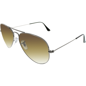 Ray-Ban Men's Aviator RB3025-004/51-55 Grey Aviator Sunglasses