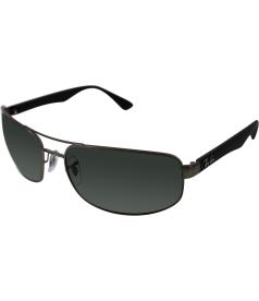 Ray-Ban Men's  RB3445-029/71-64 Grey Rectangle Sunglasses
