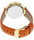 Michael Kors Women's Parker MK2279 Orange Leather Quartz Watch - Back Image Swatch
