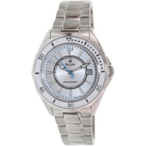 Bulova Women's Winter Park 96M123 Silver Stainless-Steel Quartz Watch