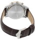 Bulova Women's Diamond 98R160 Brown Leather Quartz Watch - Back Image Swatch