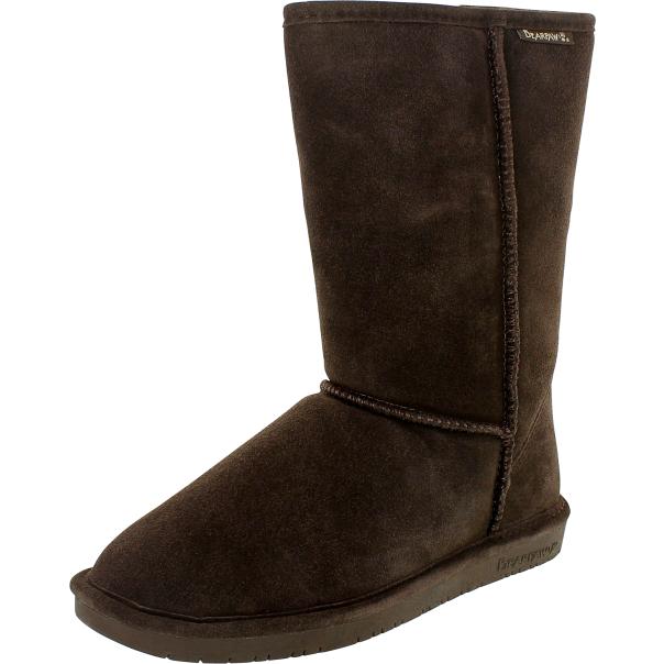 bearpaw s mid calf suede boot