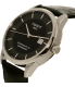 Tissot Men's T086.408.16.051.00 Black Leather Swiss Automatic Watch - Side Image Swatch