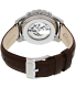 Fossil Men's Grant ME3027 Brown Leather Automatic Watch - Back Image Swatch