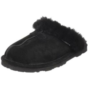 Bearpaw Women's Loki Low Top Sheepskin Flat Shoe