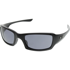 Oakley Men's Fives Squared OO9238-04 Black Rectangle Sunglasses
