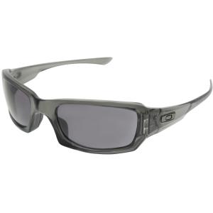 Oakley Women's Fives Squared OO9238-05 Black Rectangle Sunglasses