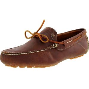 J.D. Fisk Men's Franz Low Top Leather Athletic Boating Shoe