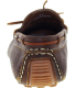 J.D. Fisk Men's Franz Low Top Leather Athletic Boating Shoe - Back Image Swatch