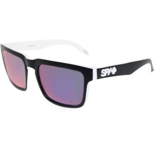Spy Men's Helm 673015809121 White Square Sunglasses
