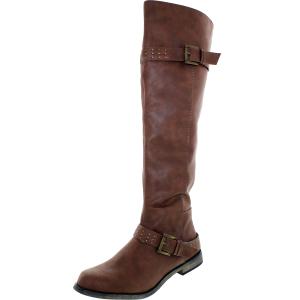 Xoxo Women's Brianna Knee-High Synthetic Boot