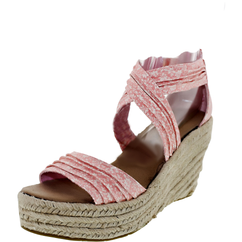 Bearpaw Women's Begonia Ankle-High Fabric Sandal