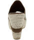 Bearpaw Women's Jasmine Ankle-High Pleather Sandal - Back Image Swatch