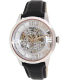 Fossil Men's Townsman ME3041 Black Leather Automatic Watch - Main Image Swatch