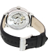 Fossil Men's Townsman ME3041 Black Leather Automatic Watch - Back Image Swatch